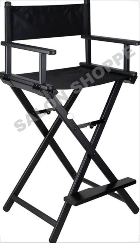 portable makeup chair with makeup vanity trolley